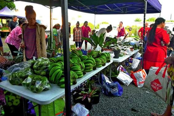 Le marché de Pouembout a fêté l'igname