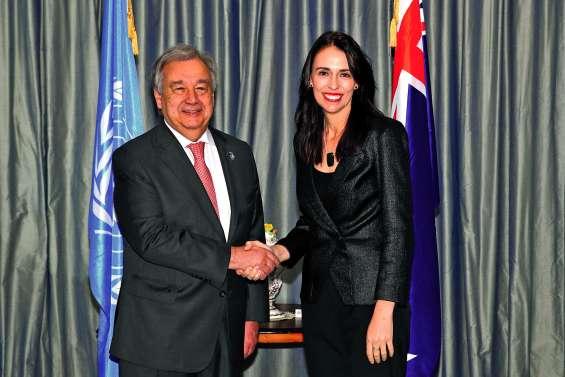 Le patron de l'ONU en tournée pourle climat, un combat « très mal parti »