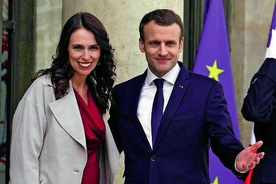 Ardern et Macron appellent à s'unir  contre la diffusion de contenus terroristes