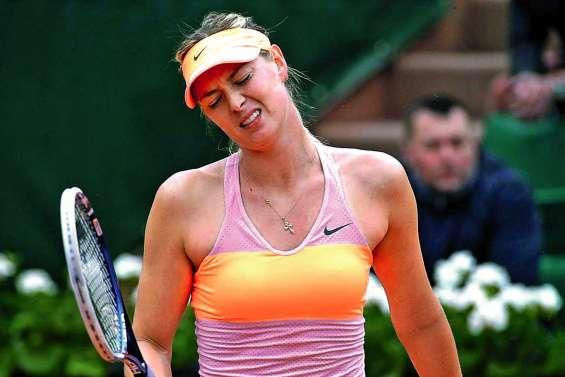 Sharapova déclare forfait pour Roland-Garros