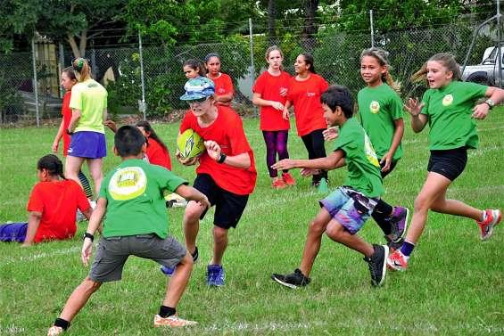 Plus de 400 scolaires réunis par le sport