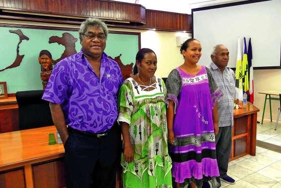 Elu président de province, Jacques Lalié appelle à l'unité aux Loyauté