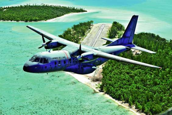 Européennes : en Polynésie, le matériel électoral largué par avion