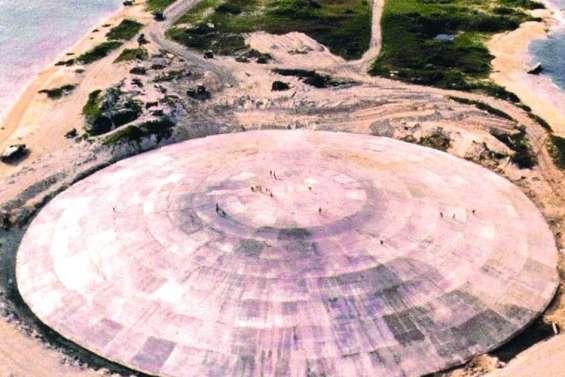 Le patron de l'Onu craint des fuites radioactives d'un dôme aux îles Marshall