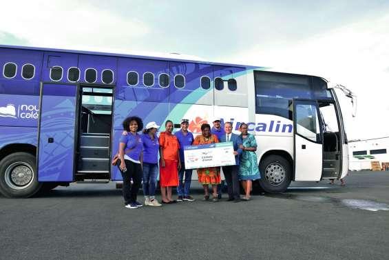 Le billet gagnant de la tournée Aircalin