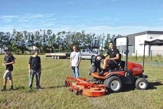 Du matériel professionnel présenté au lycée agricole