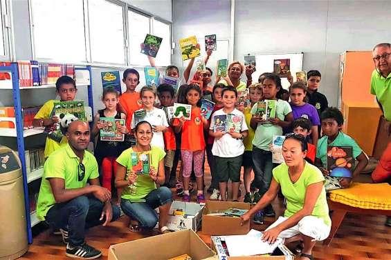 Des élèves de CM2 ressuscitent la bibliothèque de l'école