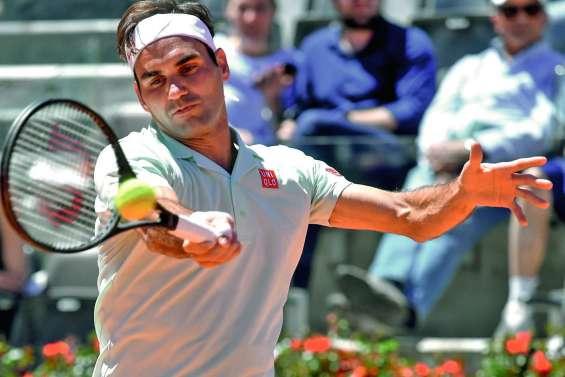 Roger Federer retrouve  la terre parisienne