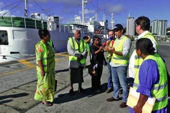 Le Port autonome a accueilli une délégation de Wallis-et-Futuna