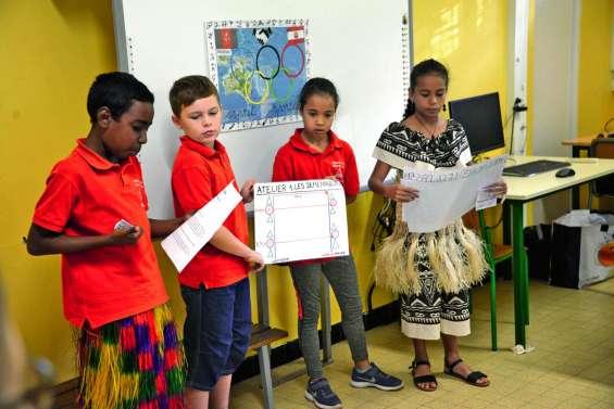 L'Usep intéresse les enfants aux Jeux olympiques de 2024