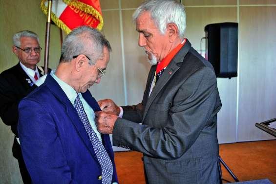 Alain Levant a été sacré Chevalier de la Légion d'honneur