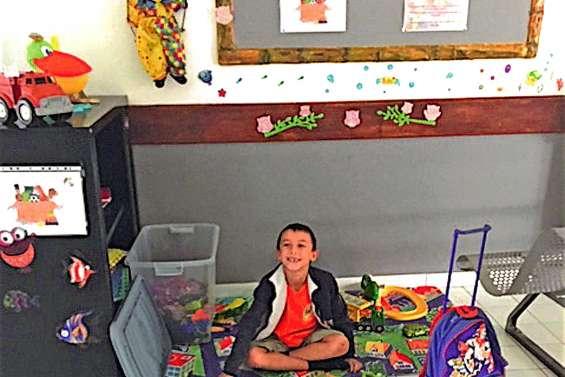 Un espace destiné  aux enfants à l'hôpital