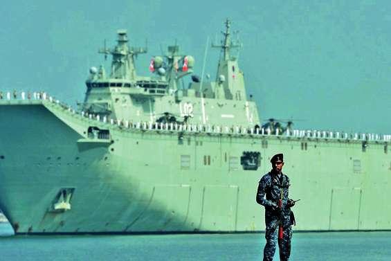 Des pilotes aussies ciblés par des lasers en mer de Chine méridionale