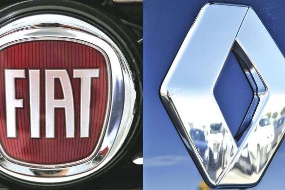 Renault étudie la fusion avec Fiat Chrysler
