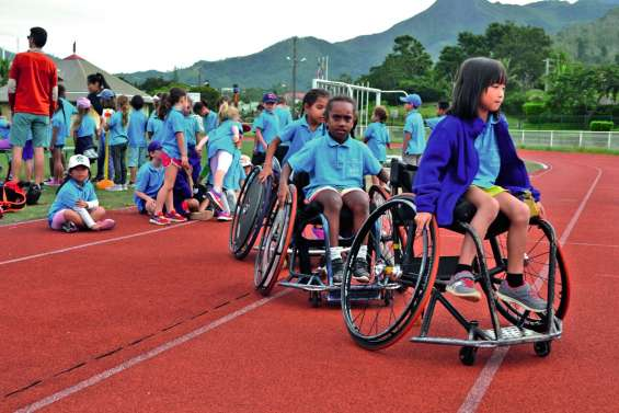 Le Challenge Normandon sensibilise près de 500 élèves au handisport