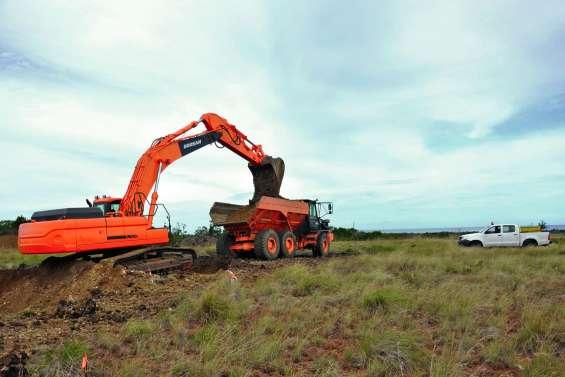 Après quatre mois d'arrêt, les travaux de Hounawe ont repris