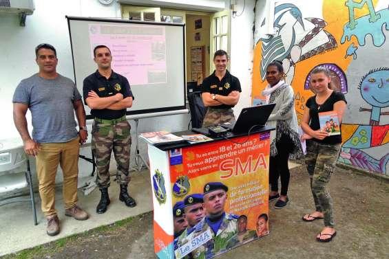 Le RSMA-NC a présenté ses formations à la Maison des jeunes