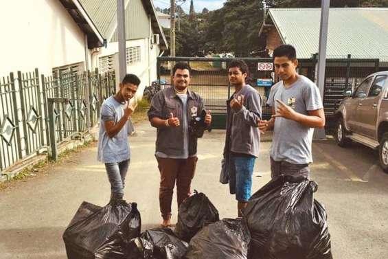 « #mongestepourlaplanète », un défi pour nettoyer le pays