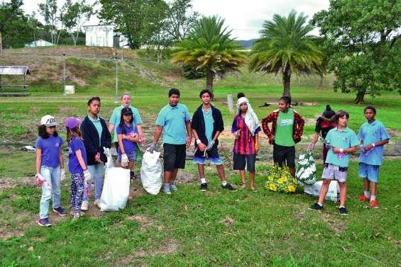 Les élèves du privé ont fait  la chasse aux déchets