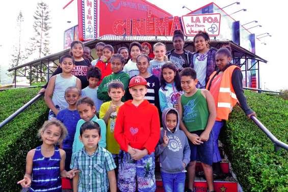 Les jeunes réalisateurs entrent en scène au centre aéré