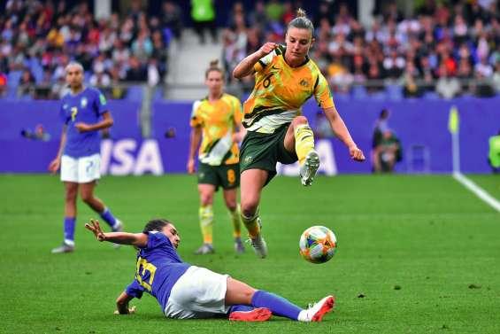 L'Australie remonte le Brésil