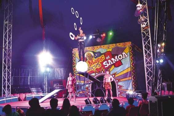 Cirque de Samoa : 32 000 personnes ont assisté aux shows