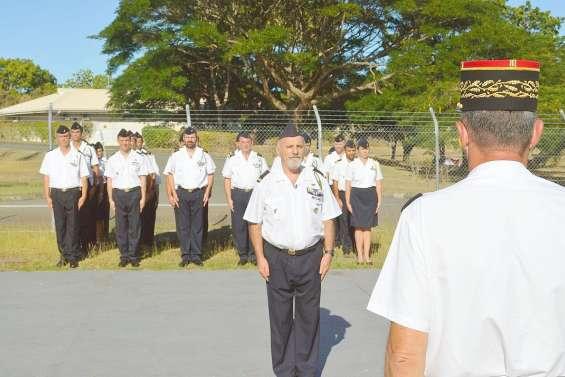 Départ à la retraite du major Gabray après 43 ans de service