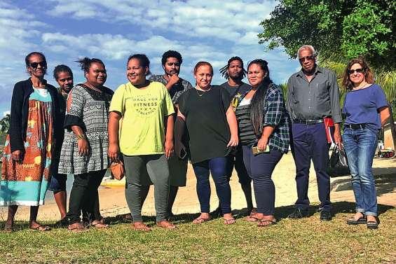 Sept jeunes volontaires sur le départ