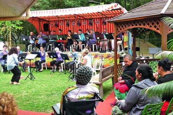 Musique et familles au rendez-vous de la résidence Brini