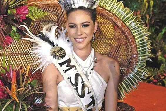 Matahari Bousquet a été élue Miss Tahiti