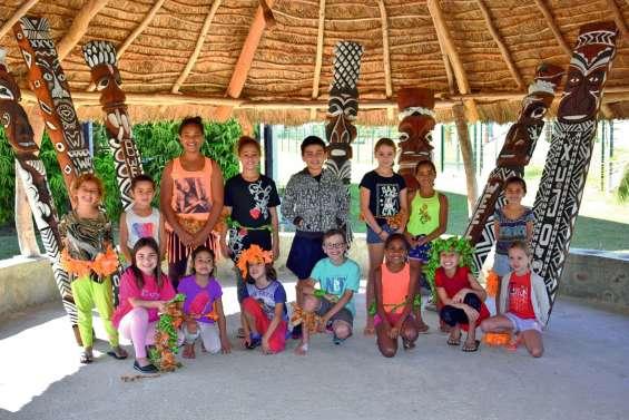 Un atelier polynésien au centre culturel