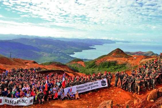500 personnes réunies sur le sommet du mont Dore