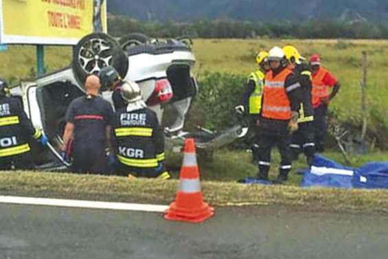 Un homme évacué par hélicoptère après un accident à Tontouta