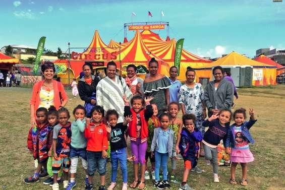 Les enfants de l'école de Pothé ont découvert l'univers magique du cirque