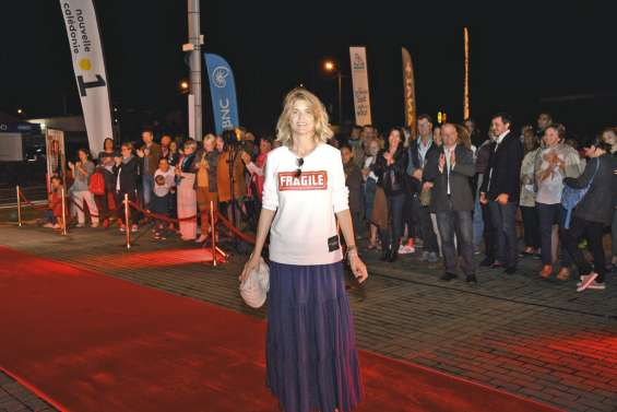 Alice Taglioni a lancé le XXIe Festival  du cinéma de La Foa