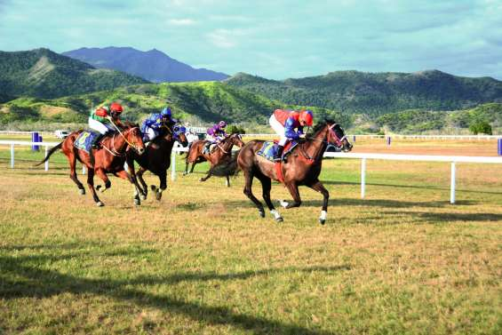 Les chevaux de course font leur retour à Banu aujourd'hui