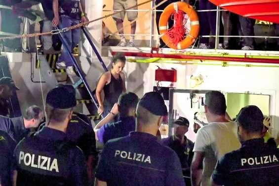 La capitaine du Sea-Watch arrêtée à Lampedusa