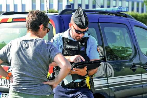 221 infractions pendant  le week-end, un excès « record » à 171 km/h