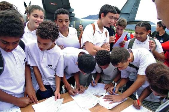 La classe défense découvre l'armée de l'air