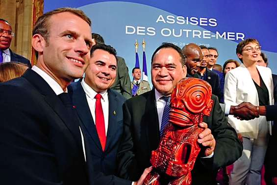 Macron en Polynésie en avril 2020