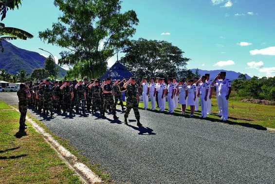 Passation de commandement au RSMA de Koné