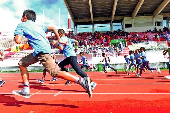 La course longue réunit 441 élèves du primaire à Numa-Daly