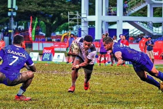 Les Fidjiens doublement en or