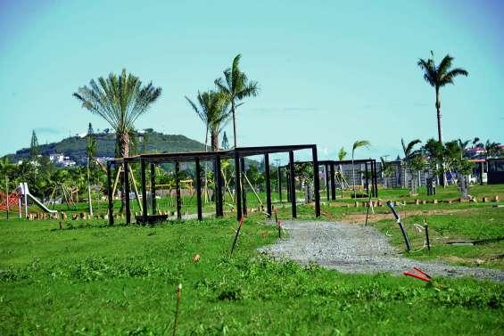 Le parc urbain de Sainte-Marie sera bientôt doté de deux pontons
