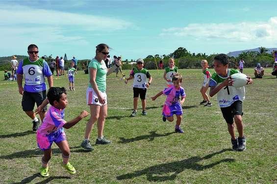 Les valeurs du rugby inculquées aux enfants