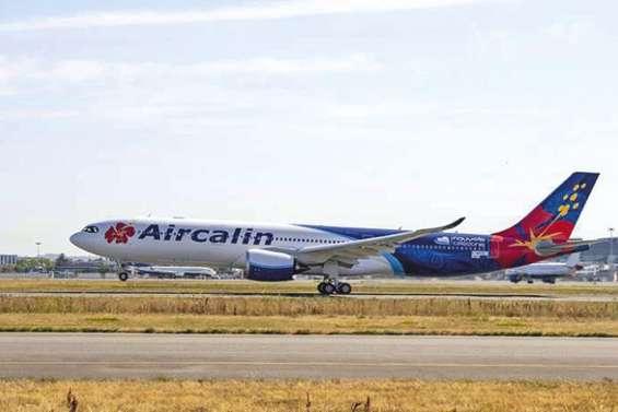 Premier vol de contrôle pour le nouvel A330neo d'AirCalin