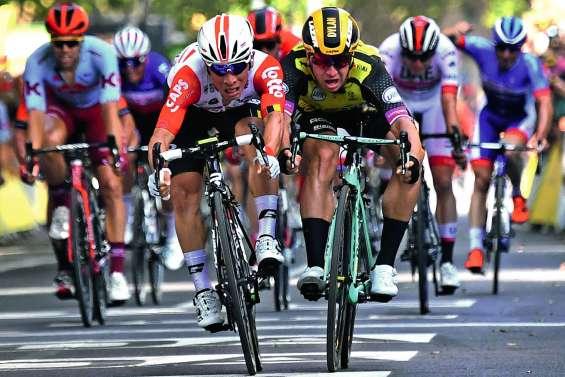 Caleb Ewan s'impose au sprint avant les Pyrénées
