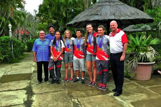 Boulouparis fête ses golfeurs médaillés à Apia
