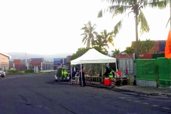 Mouvement de grève au Port autonome