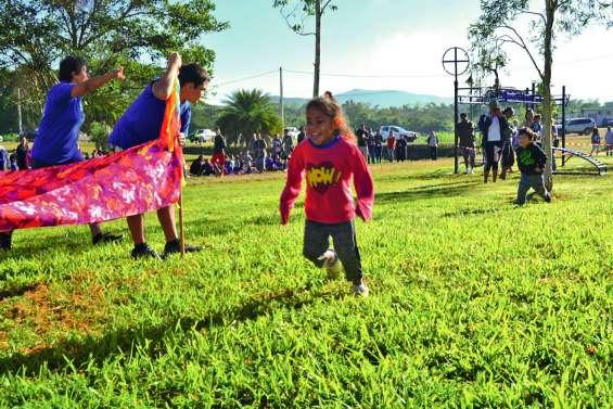 Les élèves de Saint-Joseph au pas de course